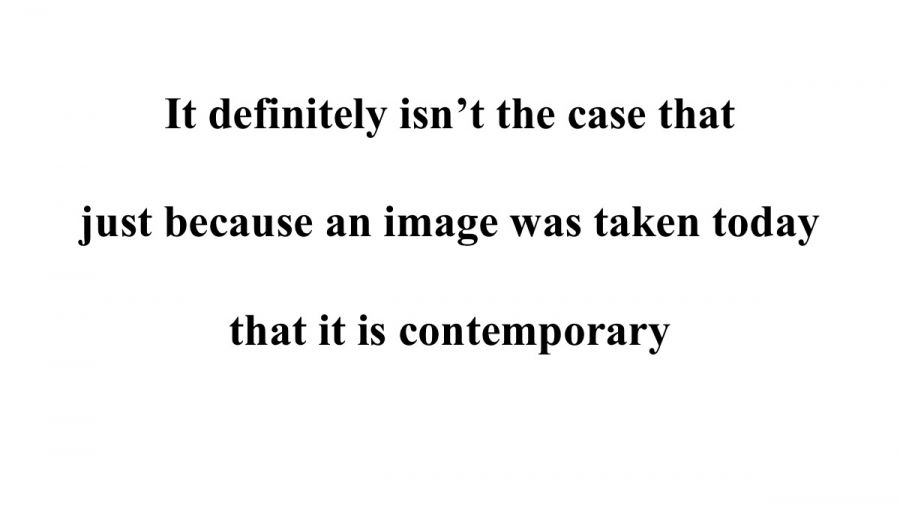 What is Contemporary Photography?